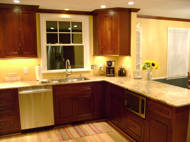 Inset Kitchen Cabinets Cherry Cabinetry Cliqstudios