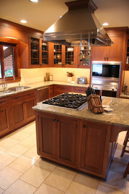 Kitchen Islands With Gas Cooktops