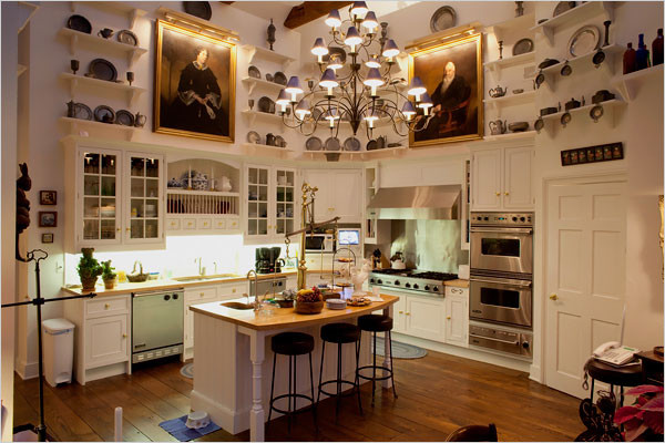 inside joan riverss home the new york times great homes and destinations kitchen