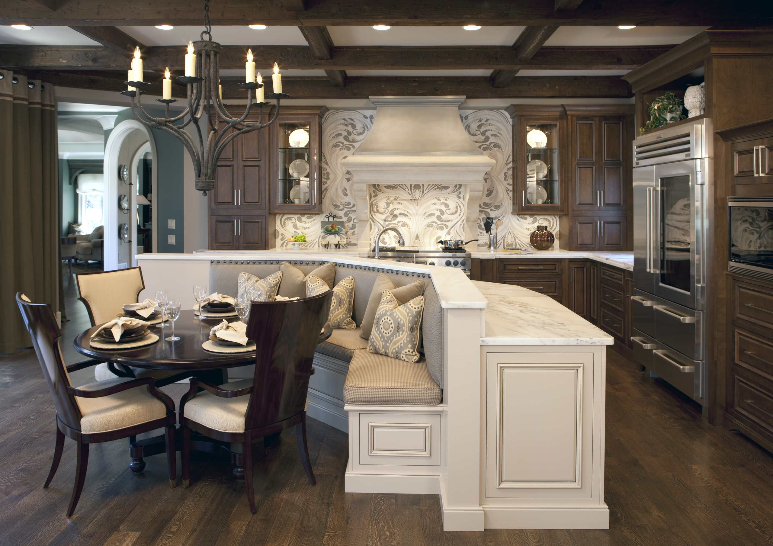 75 Beautiful L Shaped Kitchen With An Island Pictures Ideas April 2021 Houzz