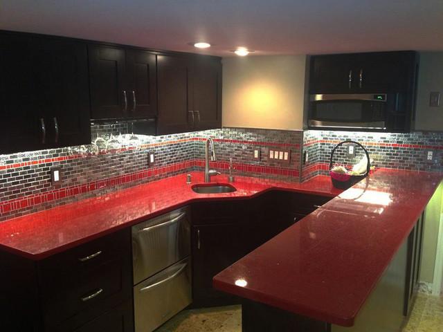 Inspired Led Accent Lighting Modern Kitchen Phoenix
