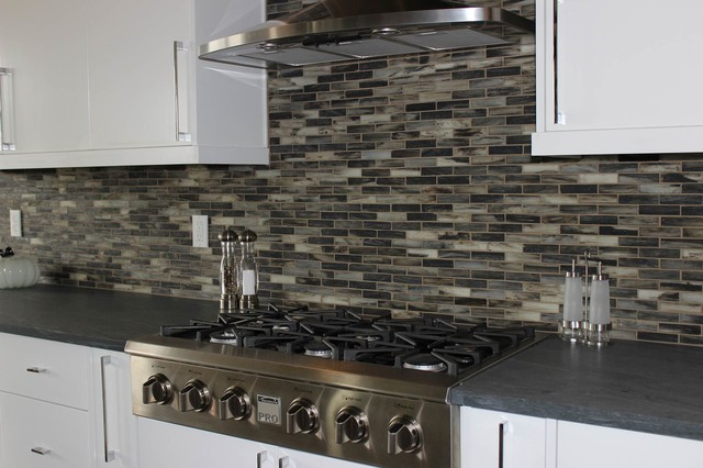 Installation Images Modern Kitchen Boise By The Masonry Center Inc