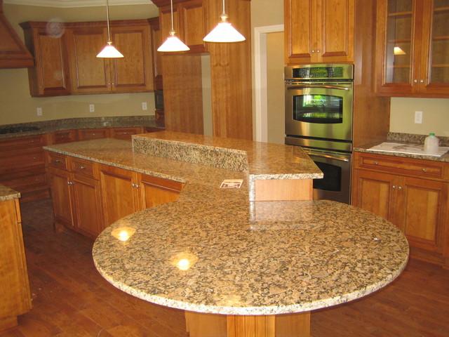 Installed Granite traditional-kitchen