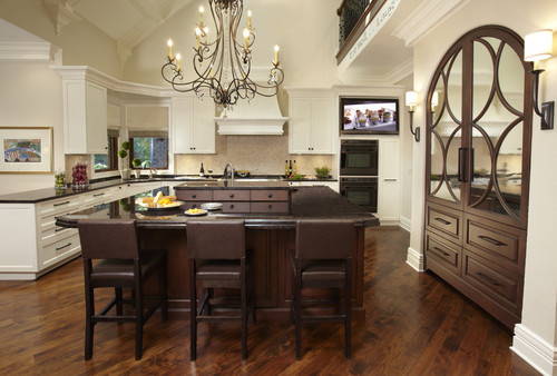 Mirrored Upper Kitchen Cabinet Doors Anyone