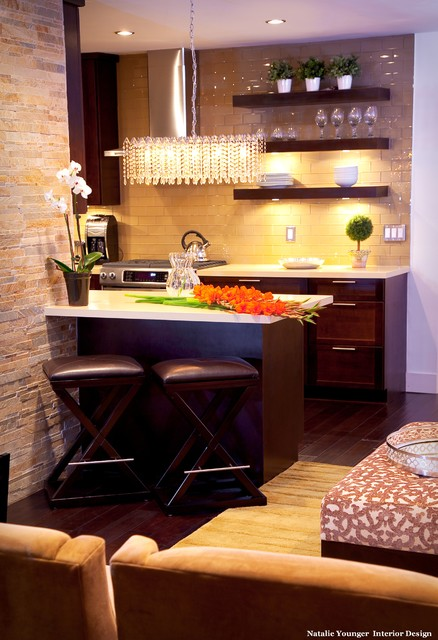Intercontinental Influence transitional-kitchen