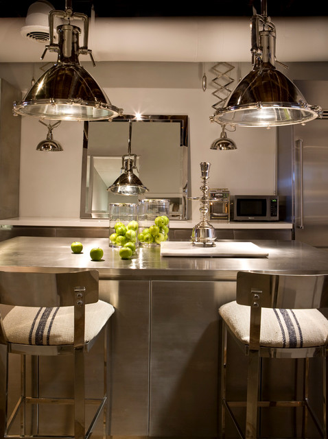 Interior Design 2 Industrial Kitchen Miami By Michael Dawkins Home