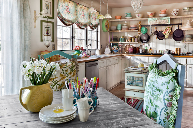 Interior Design Shabby Chic Kitchen Kansas City By Bill