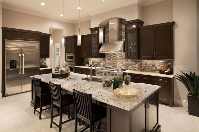 Interior Design by Baer's Furniture - Traditional - Kitchen - Miami - by Baer's Furniture