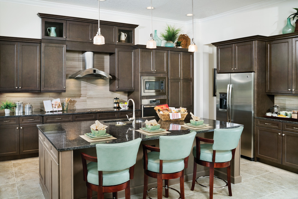 Interior Design Coquina Model Home Kitchen Tampa By