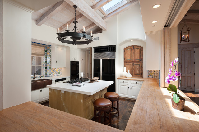Interior Design Rancho Santa Fe American Southwest Kitchen San