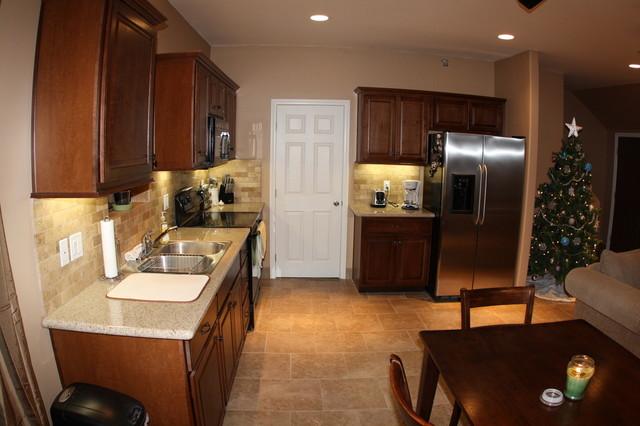 Minimalist Garage Converted Into A Kitchen Ideas: Interior Garage Conversion Kitchen/Dining
