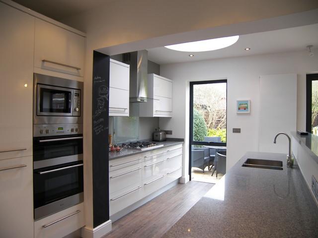 Interior Of New Kitchen Extension In Henleaze Bristol Contemporary Kitchen South West