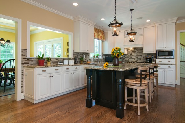 Interior Paint Projects Traditional Kitchen