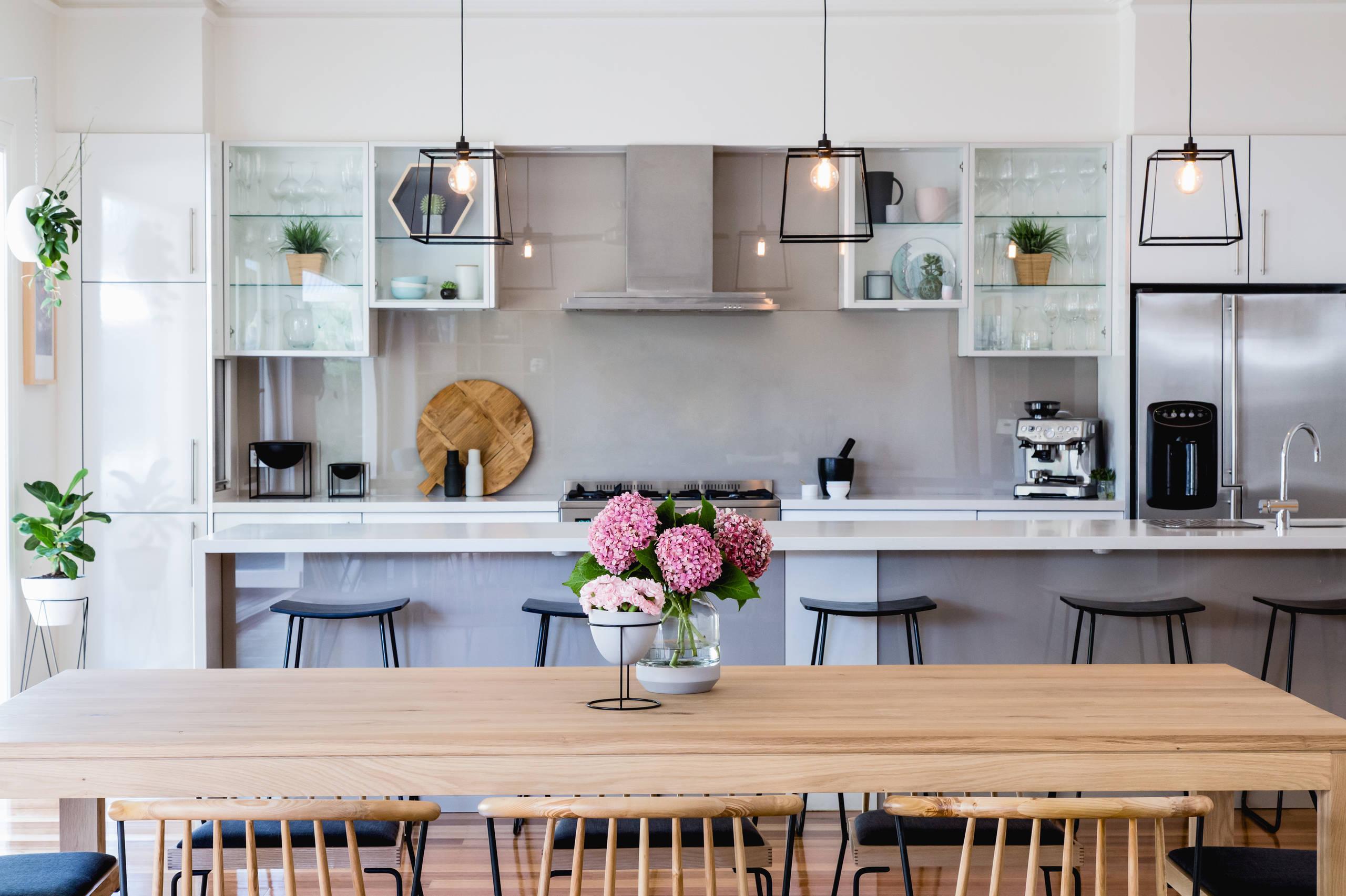 Glass Front Kitchen Cabinets Houzz
