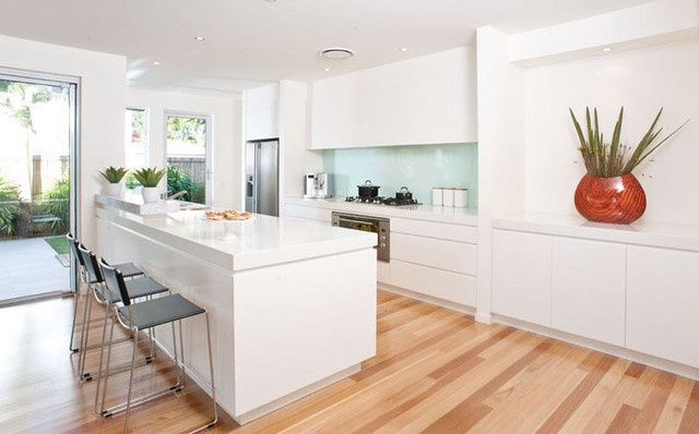 Interior contemporary-kitchen