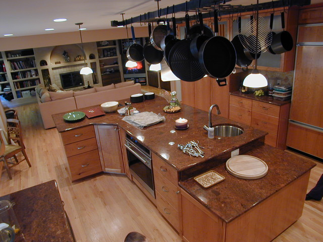 interior spaces traditional-kitchen