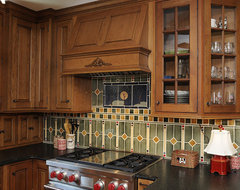 Interior eclectic kitchen