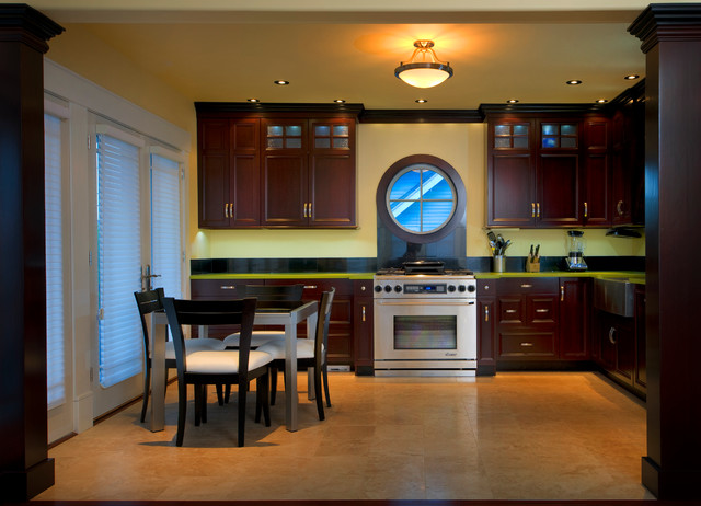 beach Facelift and renovation traditional-kitchen