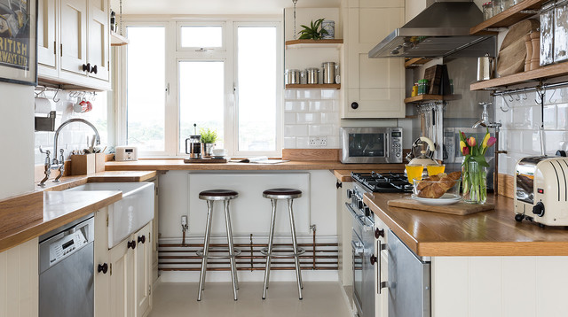 Interior styling 2 rustic kitchen london by tribe for Interior stylist london