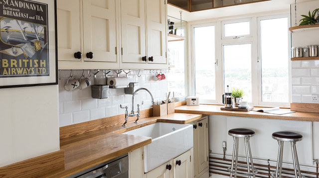 Interior styling 2 industrial kitchen london by for Interior stylist london