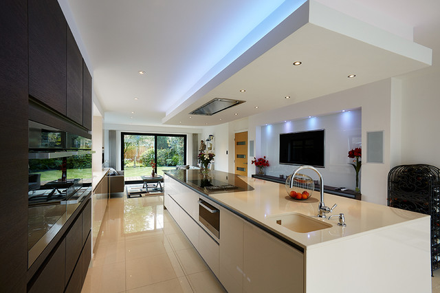 Interiors Kitchens Contemporary Kitchen Yorkshire