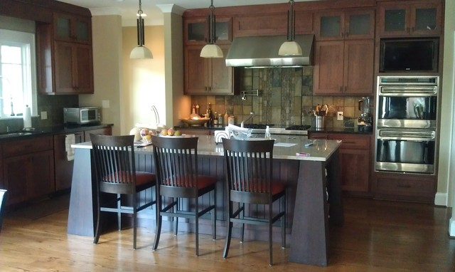 Interiors - Lake Front Home traditional-kitchen