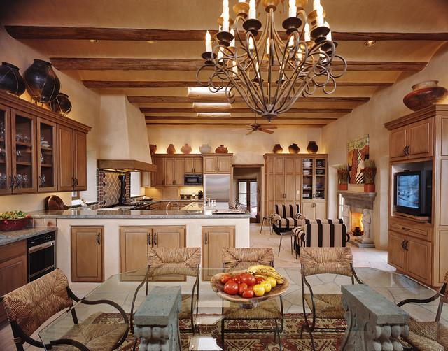Interiors New Mexico Santa Fe Style Mediterranean