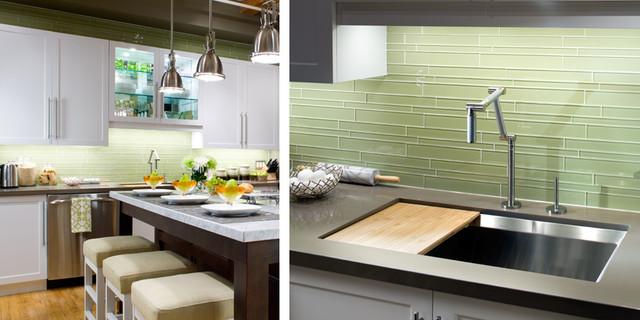 Interstyle Glass Tile modern-kitchen