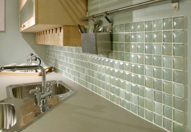 Interstyle Glass Tile modern-kitchen