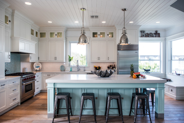 Intracoastal Beach Home Beach Style Kitchen Other By
