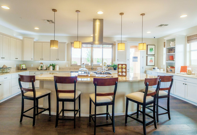 Intrigue marbella vineyards gilbert az 4092 captivate plan modern kitchen phoenix for Shea homes design studio arizona