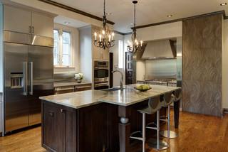 Intriguing Soft Contemporary Kitchen Design Glen Ellyn Il