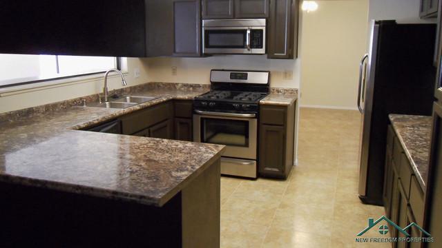 Investor Home Restoration traditional-kitchen