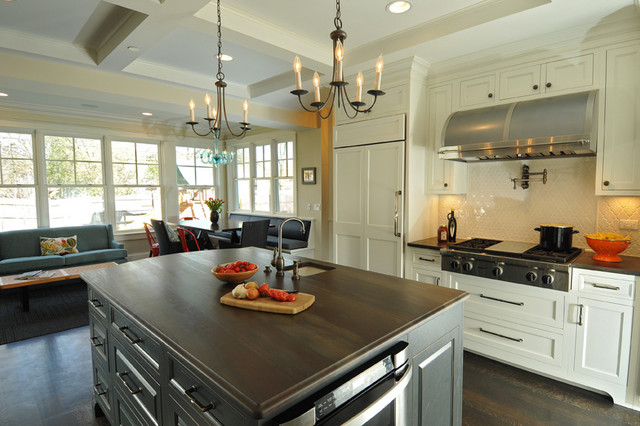 Contemporary classic kitchen in Northbrook transitional-kitchen