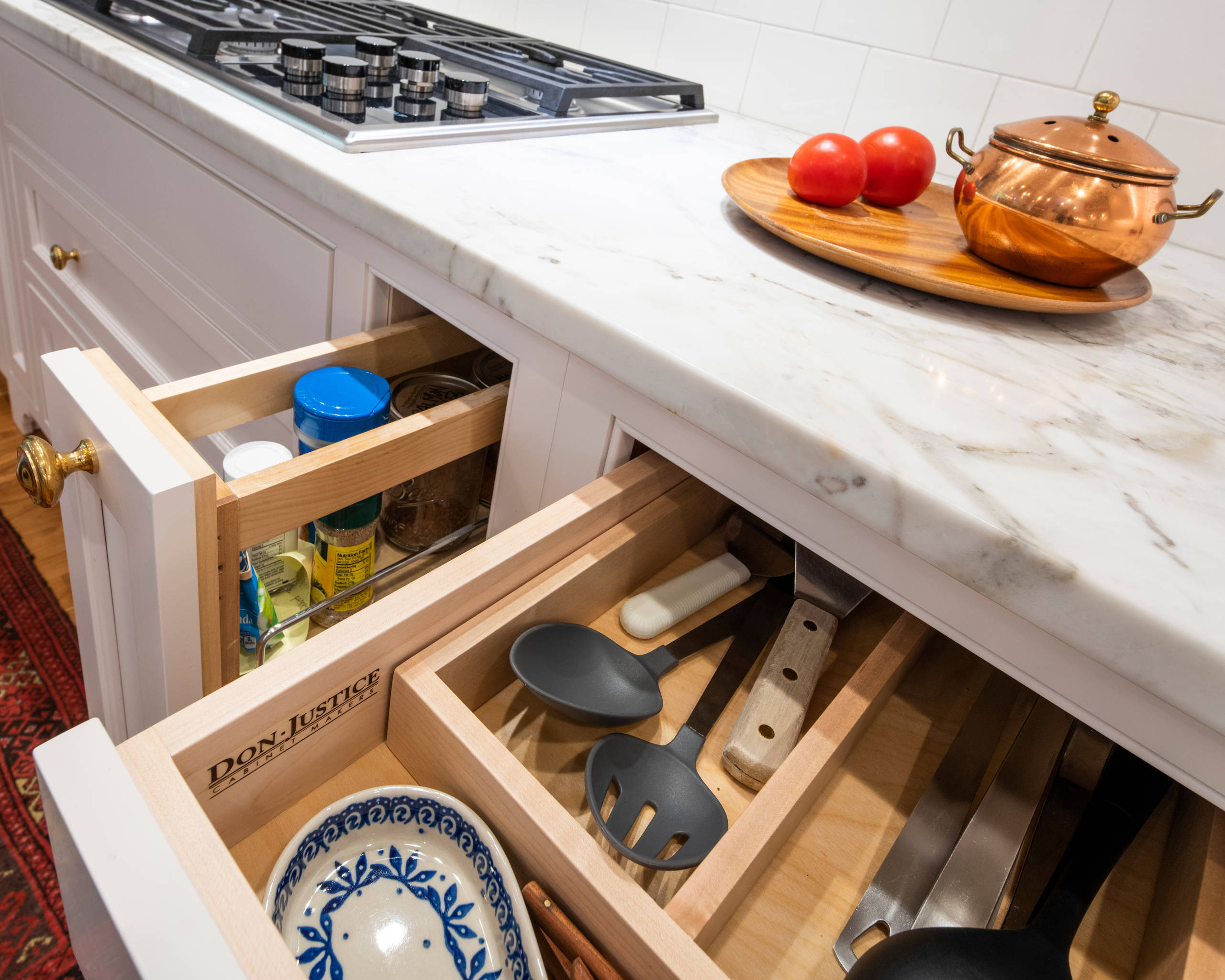 Inviting Indian Hill Kitchen by Don Justice Cabinet Makers