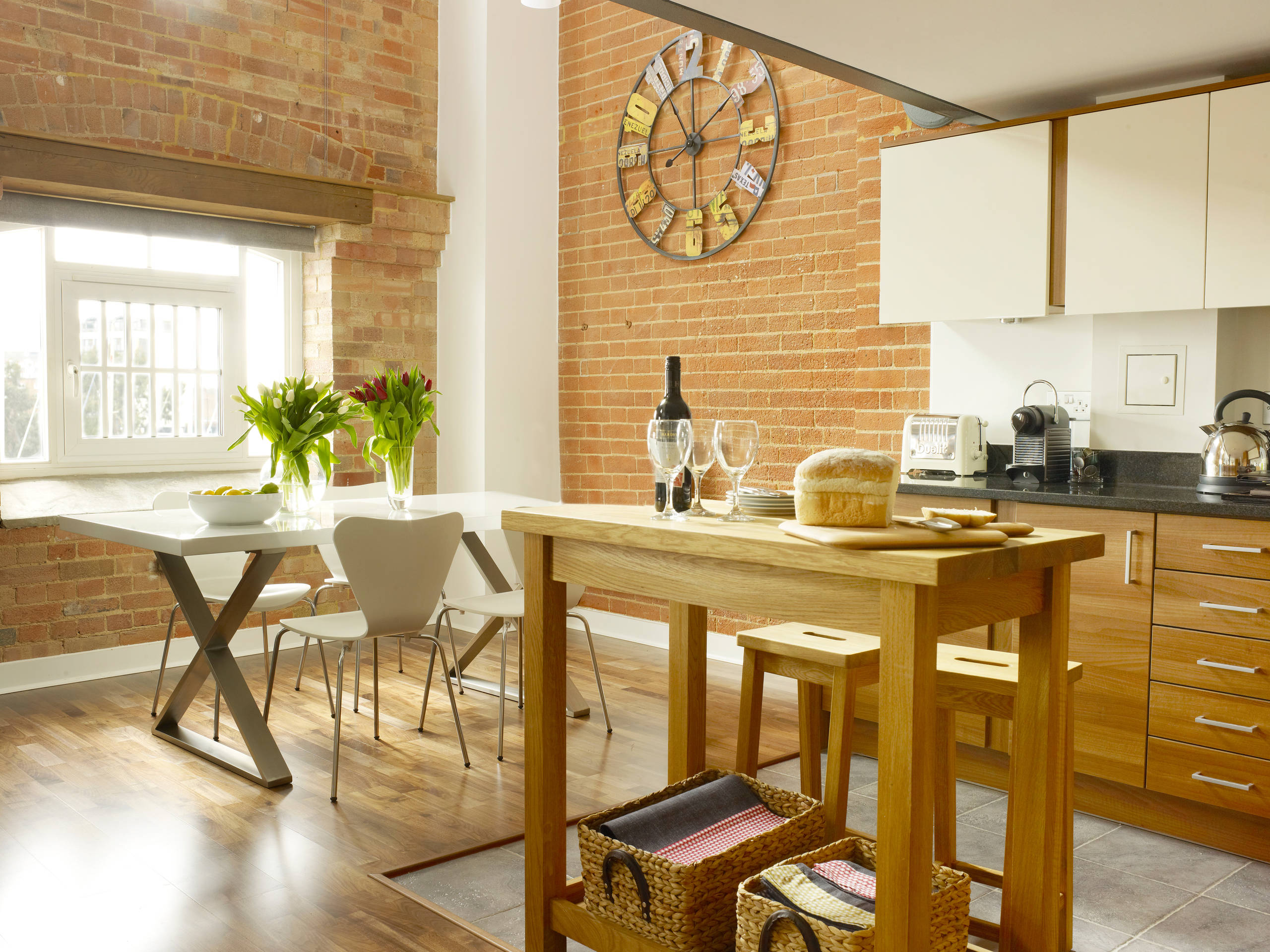 Butcher Block Dining Table Houzz