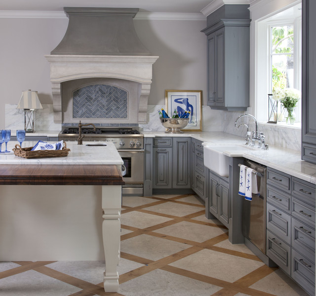 Irish Kitchen Designs Part - 31: Irish Sea Kitchen Traditional-kitchen