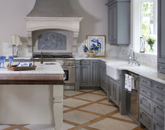 Irish Sea Kitchen traditional-kitchen