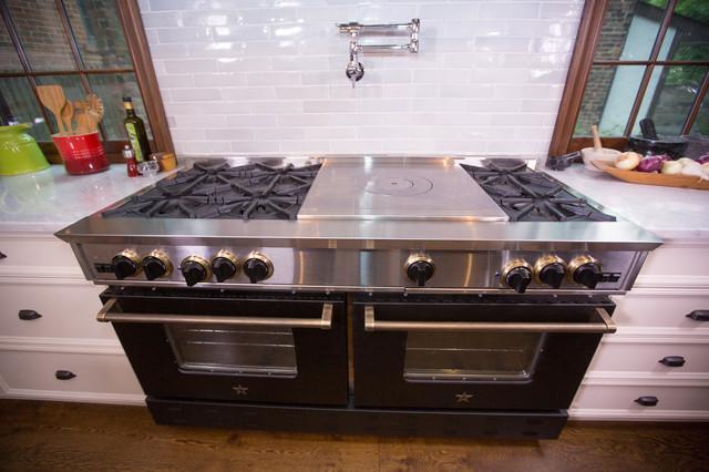 Iron Chef Micheal Symon's BlueStar kitchen featuring 60
