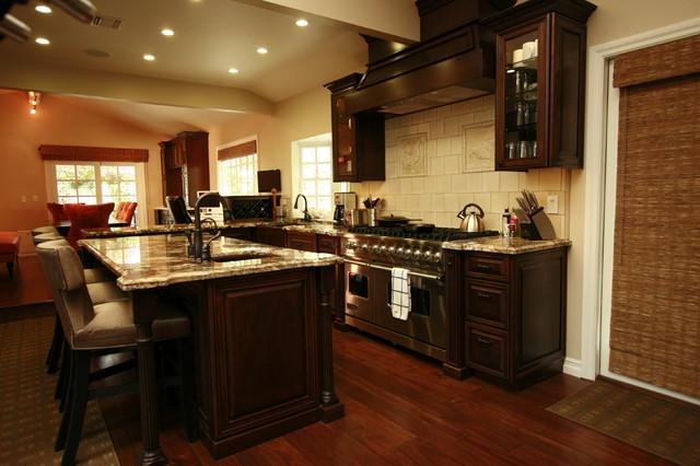 Irvine Cherry Kitchen traditional-kitchen