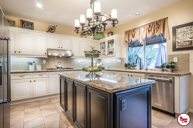 Kitchen Cabinets Refacing Traditional Kitchen Orange County