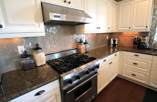 Irvine Residence - Traditional - Kitchen - orange county - by Nagwa Seif Interior Design