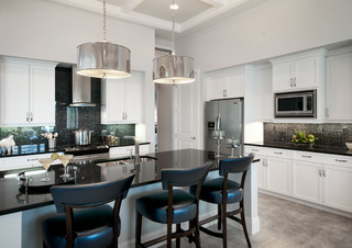 Isabella Contemporary Kitchen Tampa By London Bay