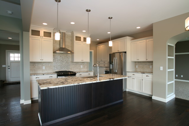 Island Back Panel Treatments Transitional Kitchen Chicago By Village Home Stores