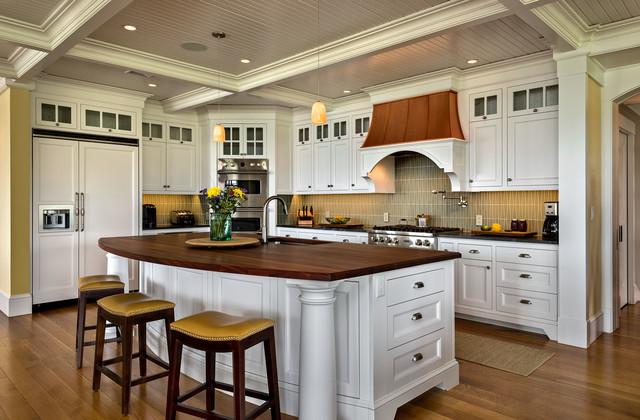 island cottage maritim k che boston von fiorentino group architects. Black Bedroom Furniture Sets. Home Design Ideas