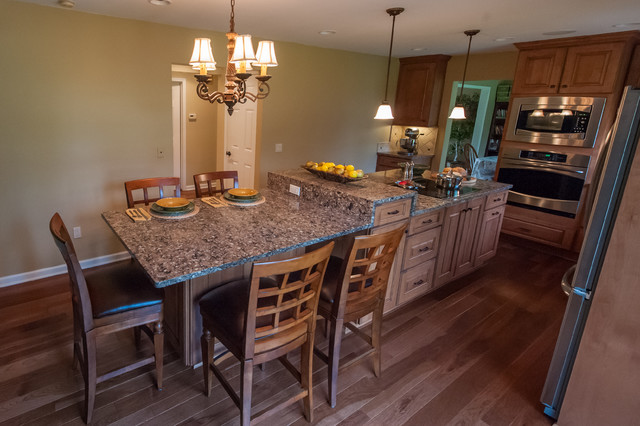 Island For The Family Traditional Kitchen Other By Sharer Design Group Llc