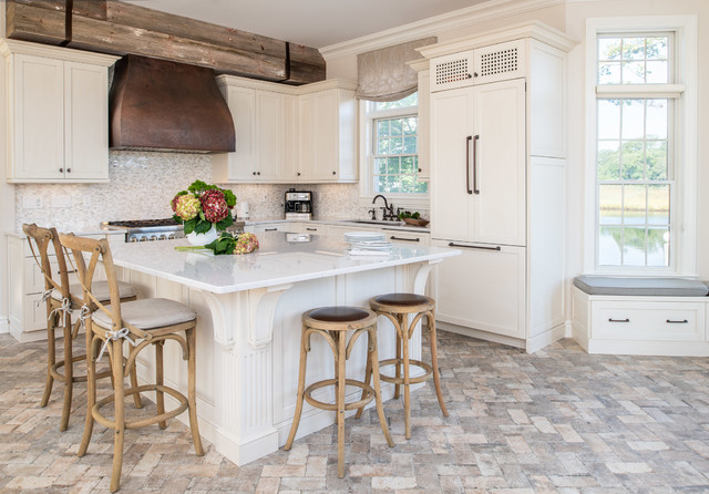 Island Heights Home - Beach Style - Kitchen - New York - by ...