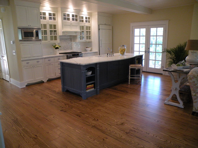 Island Home traditional kitchen