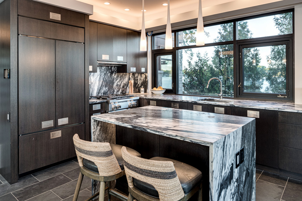 Island House Contemporary Kitchen Grand Rapids By Kevin Akey Azd Associates Michigan