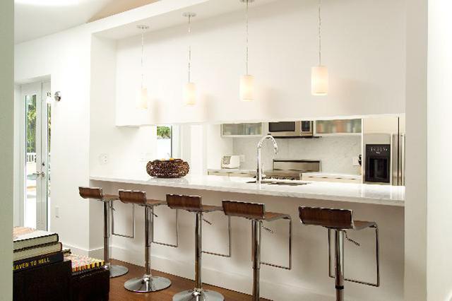 Island House tropical-kitchen